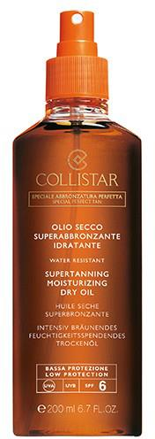 Collistar Supertanning Dry Oil SPF 6/15