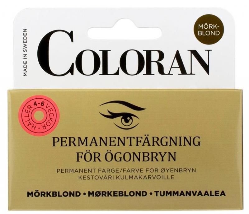 Coloran Permanentfärgning för ögonbryn