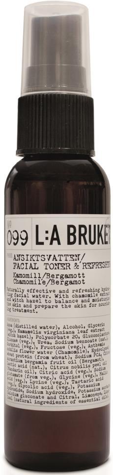 L:A Bruket Ansiktsvatten Kamomill/Bergamott
