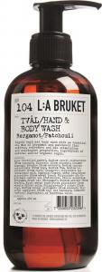 L:A Bruket Flytande tvål Bergamott/Patchouli 250 ml
