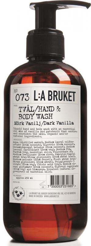 L:A Bruket Flytande tvål Mörk Vanilj 450ml