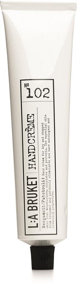 L:A Bruket Handcréme Bergamott/Patchouli 70ml