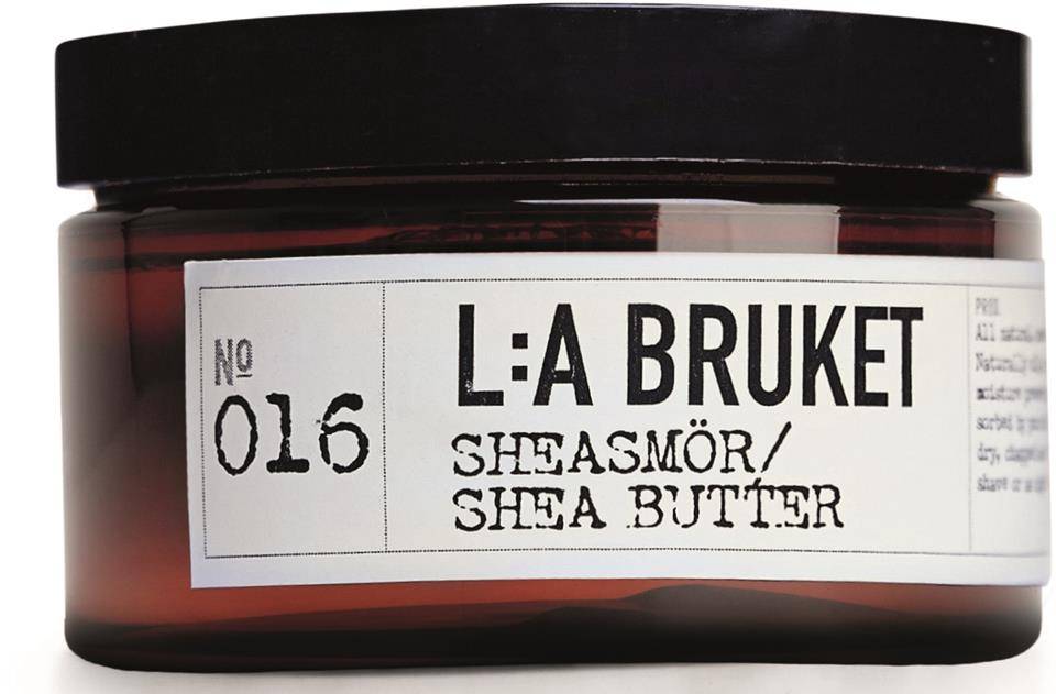 L:A Bruket Sheasmör naturell 100ml