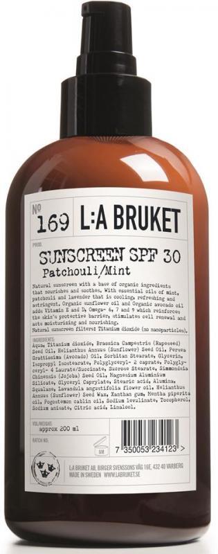 L:A Bruket Solcréme SPF30 200ml