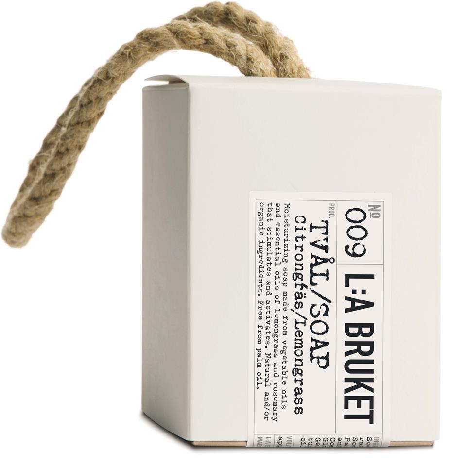 L:A Bruket Tamptvål Citrongräs 240g
