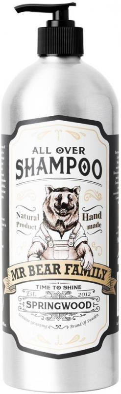 Mr Bear All Over Shampoo 1000 ml