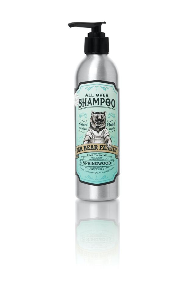 Mr Bear All over Shampoo 250 Ml