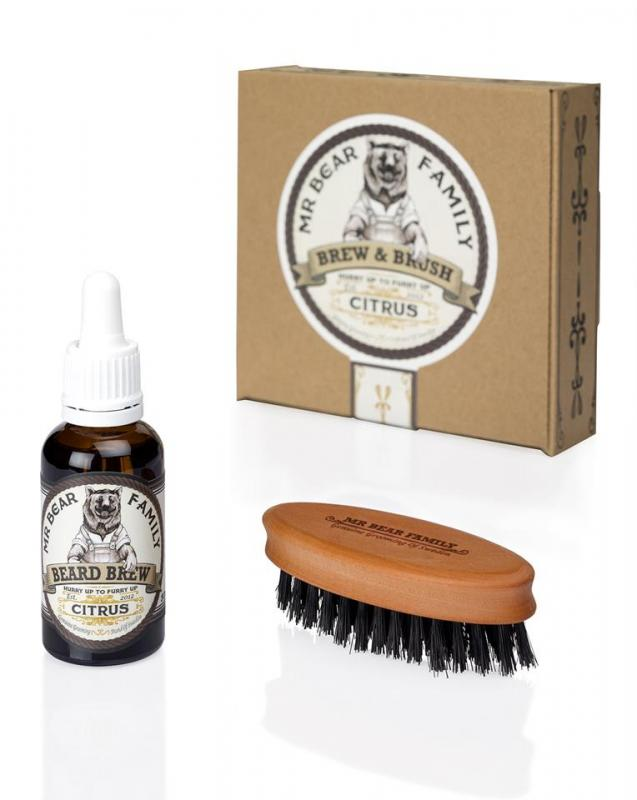 Mr Bear Brew & Brush Citrus