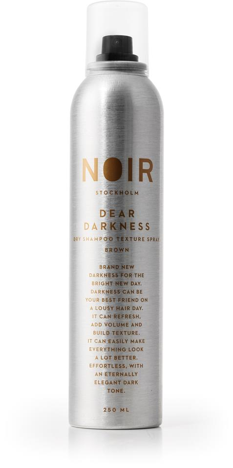Noir Dear Darkness Dry Shampoo for Brunettes 250 ml
