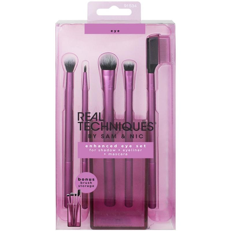 Real Techniques Enhanced Eye Set Brushes