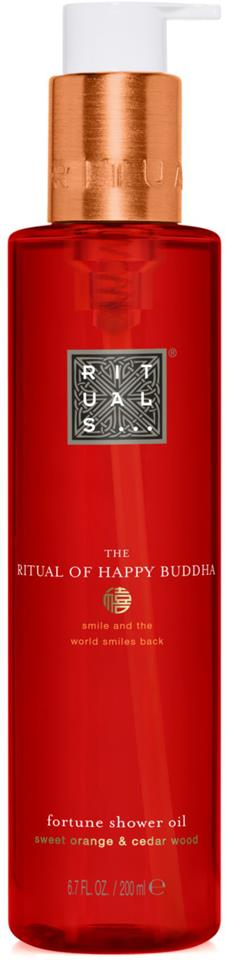 Rituals The Ritual Of Happy Buddha Shower Oil 200 ml