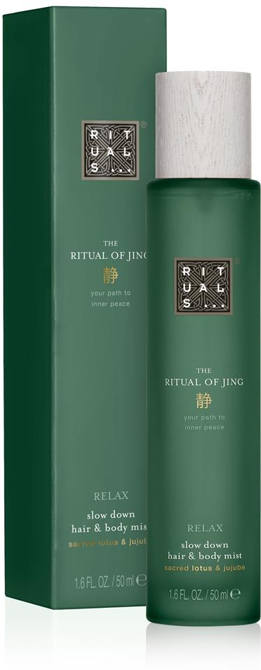 Rituals The Ritual Of Jing Relax Hair & Body Mist 50 ml