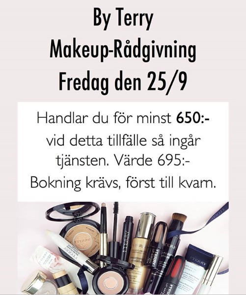 Makeup-rådgivning med By Terry!