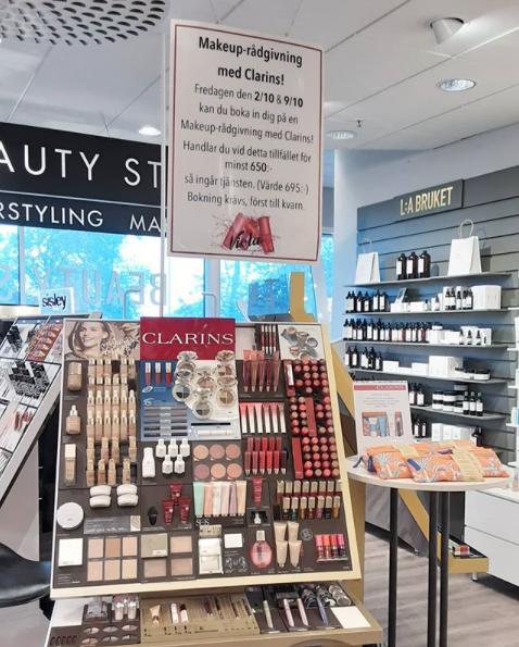 Makeup-rådgivning med Clarins!