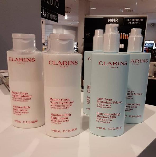 Toppenerbjudande på Clarins Bodylotion
