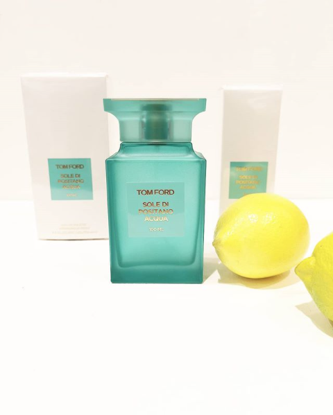 Vi Presenterar Tom Ford's Sole di Positano Acqua!