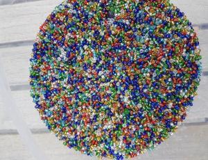 Glaspärlor (10 gram)