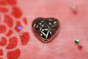 Filigree hjärta (paket om 2 st)