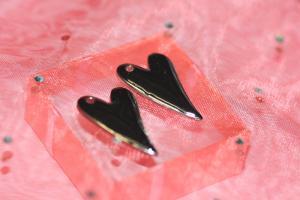 Emaljerat hjärta (1 st)
