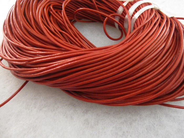 Läderband (paket om 5 m)