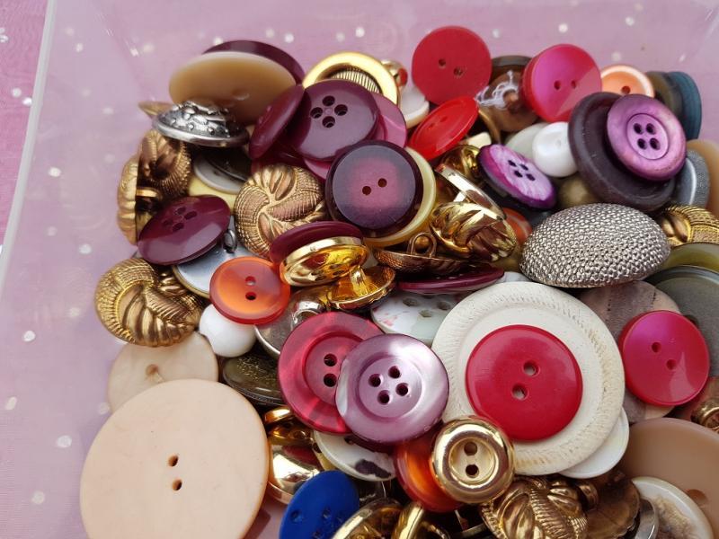 Vintage knappar (avser 1 påse)