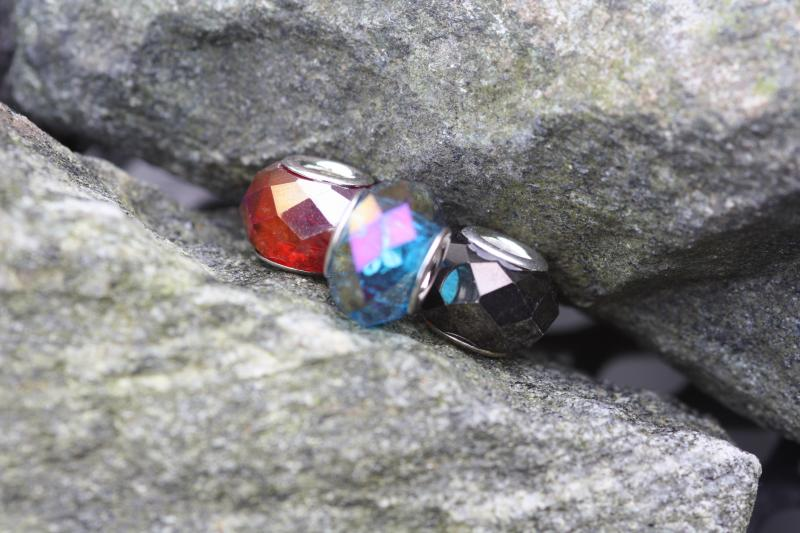 Kristallpärlor (3 st