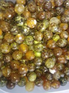 Agatpärlor (paket om 10 st)