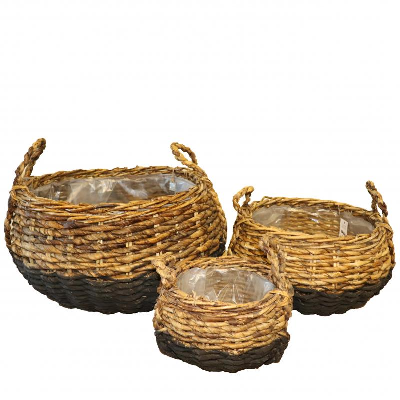 Basket bowl rattan