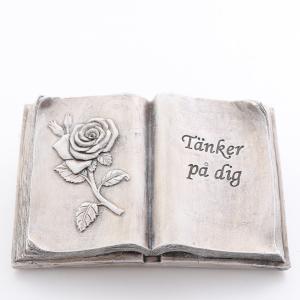 Bok tänker på dig grå