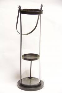Ljuslykta med glascylinder