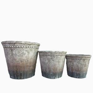 Kronkruka set/3 stor antik