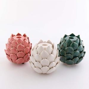 Ljuslykta lotus kronljus 3 färger