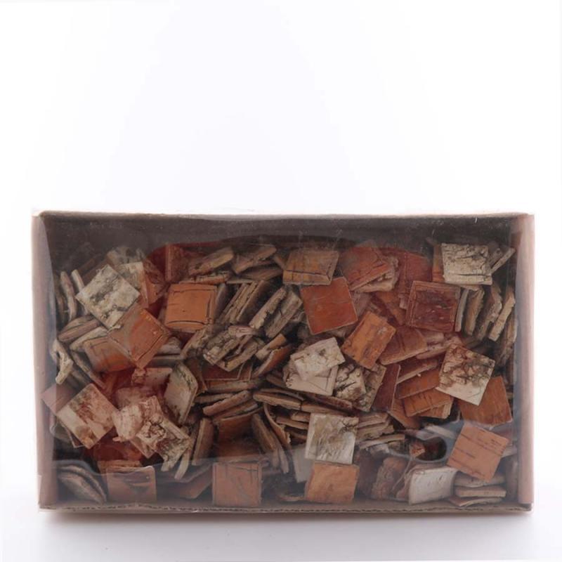 Näverbitar för dekor 1 kg i box