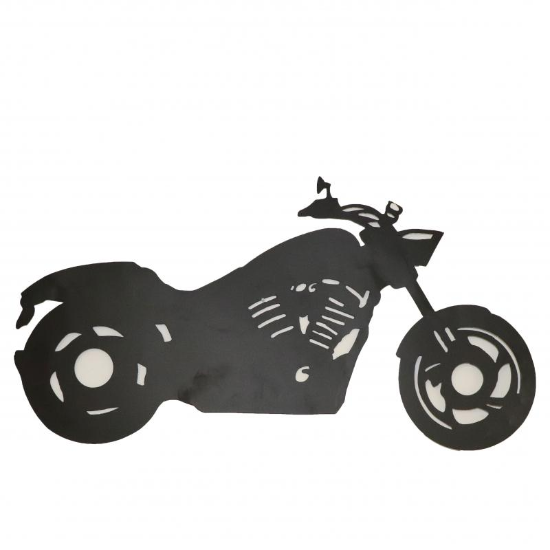 Motorcykel svart för vägg
