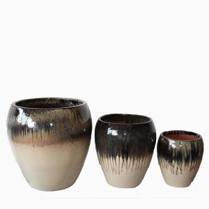 Kruka Vietnam set3 oval blackcream