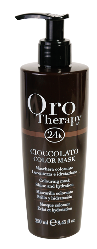 Fanola Oro Therapy 24K Color Mask Chocolate 250ml