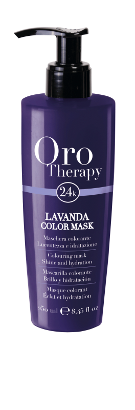 Fanola Oro Therapy 24K Color Mask Lavendel 250ml