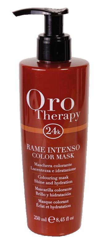 Fanola Oro Therapy 24K Color Mask Intense Coppe...
