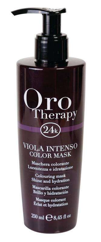 Fanola Oro Therapy 24K Color Mask Intense Viole...