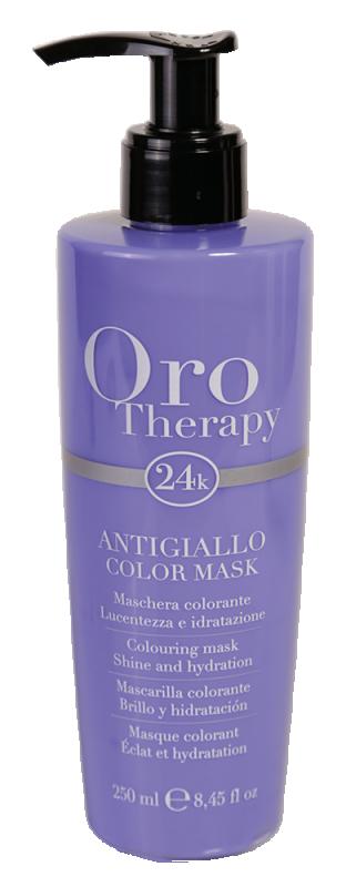 Fanola Oro Therapy 24K Color Mask Anti-Yellow 2...