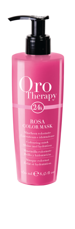 Fanola Oro Therapy 24K Color Mask Pink 250ml