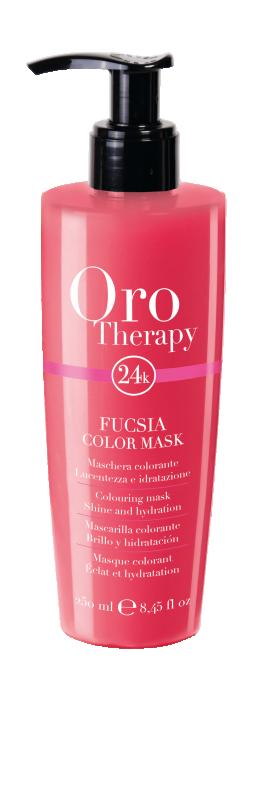 Fanola Oro Therapy 24K Color Mask Fuchsia 250ml