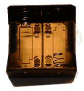 Batterihållare 2xR20 (D), st