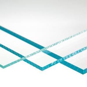 Akrylplast transparant, ofärgad,  245x495mm