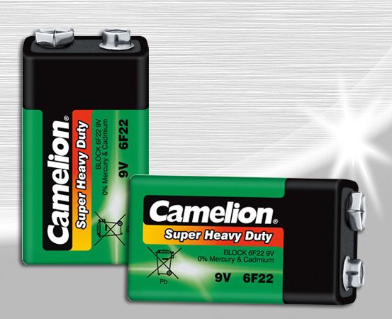 Batteri 9V,st