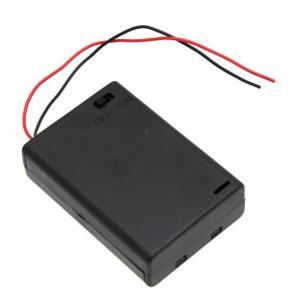 Batterihållare 3xAAA med ledningstråd