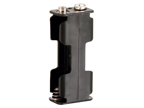 Batterihållare 2xAA, st