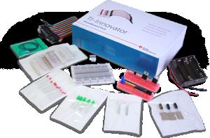 TI-innovator koplingsplatta packet