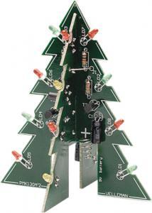 Blinkande julgran, tredimensionell, MK130, st