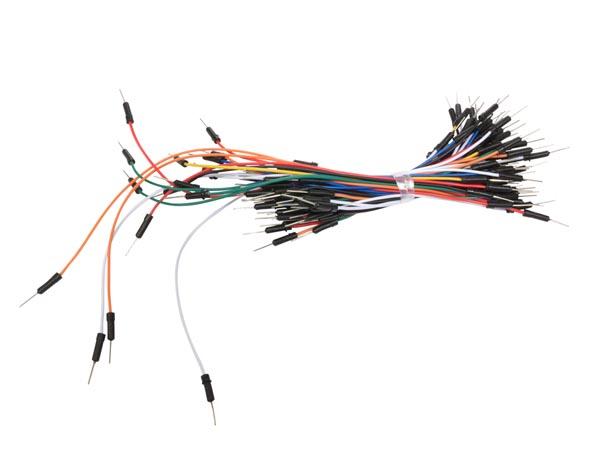 Anslutningskablar  1 pin, 65 pk (byglingstråd)
